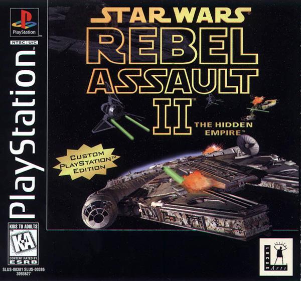 Star Wars - Rebel Assault II [Disc1of2] [U] [SLUS-00381] front cover