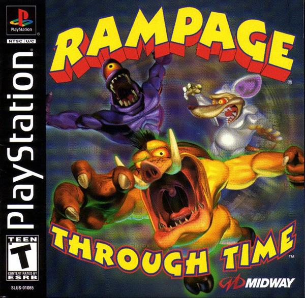 Rampage Through Time [U] [SLUS-01065] front cover