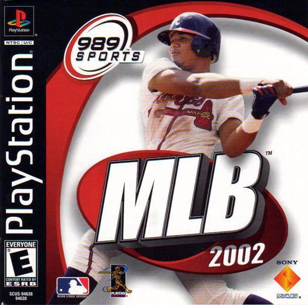 MLB 2002 [U] [SCUS-94638] front cover