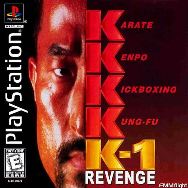 K-1 Revenge [U] [SLUS-00766] front cover