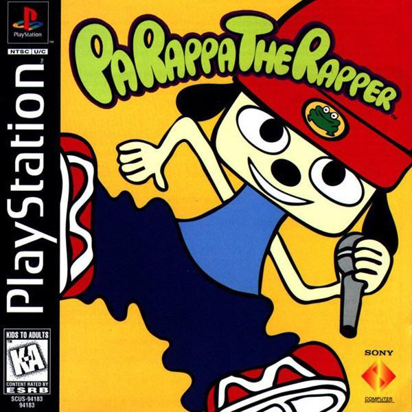 Parappa the Rapper [U] [SCUS-94183] front cover