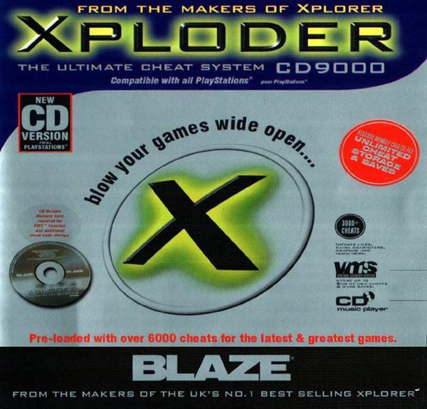 Xploder [No SLUS] front cover
