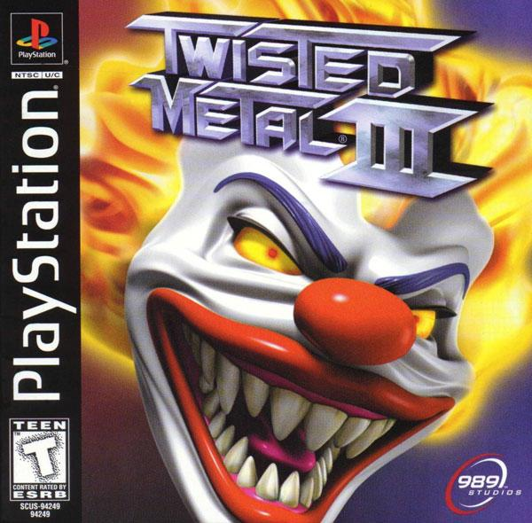 Twisted Metal 3 [U] [SCUS-94249] front cover