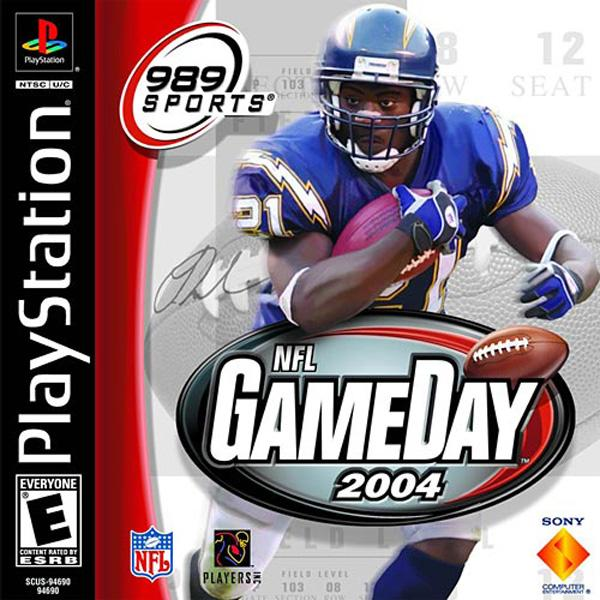 NFL Gameday 2004 [U] [SCUS-94690] front cover