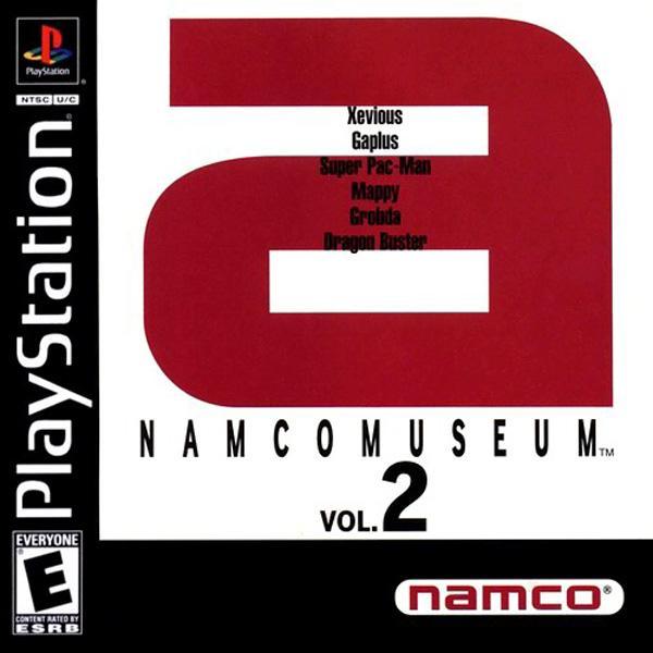 Namco Museum Vol.2 [U] [SLUS-00216] front cover