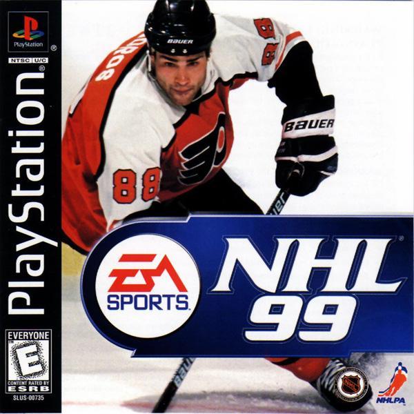 NHL '99 [U] [SLUS-00735] front cover