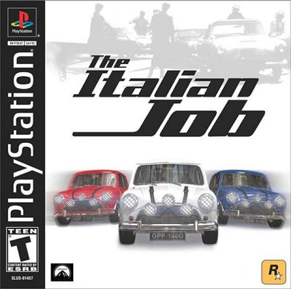 Italian Job; The [U] [SLUS-01457] front cover