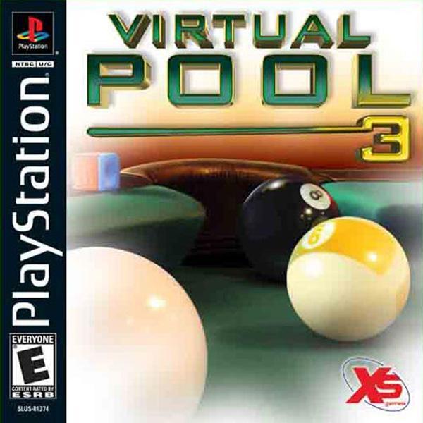 Virtual Pool 3 [U] [SLUS-01374] front cover