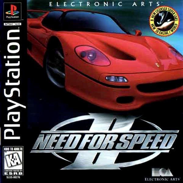 Need for Speed II [U] [SLUS-00276] front cover