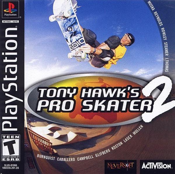 Tony Hawk's Pro Skater 2 [U] [SLUS-01066] front cover