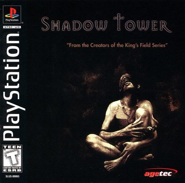 Shadow Tower (King's Field III) [U] [SLUS-00863] front cover