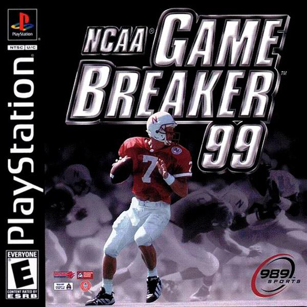 NCAA Gamebreaker '99 [U] [SCUS-94246] front cover