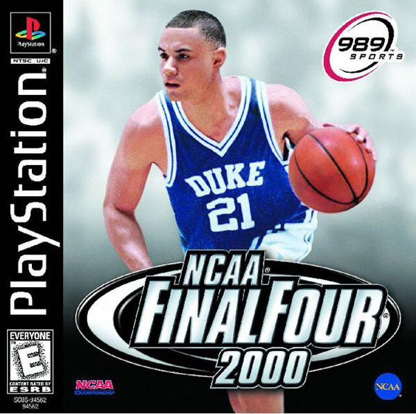 NCAA Final Four 2000 [U] [SCUS-94562] front cover