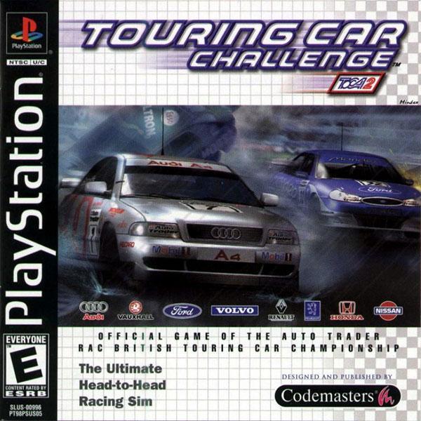 Toca - Touring Car Challenge 2 [U] [SLUS-00996] front cover