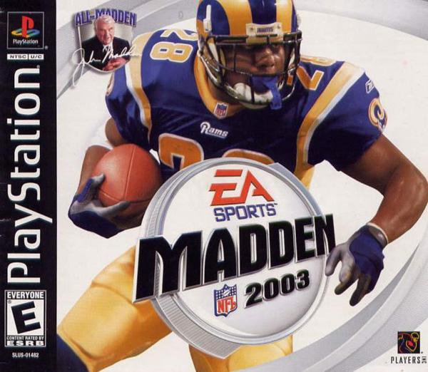 Madden NFL 2003 [SLUS-01482] front cover