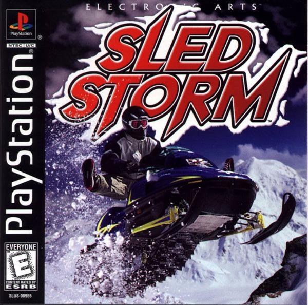 Sled Storm [U] [SLUS-00955] front cover
