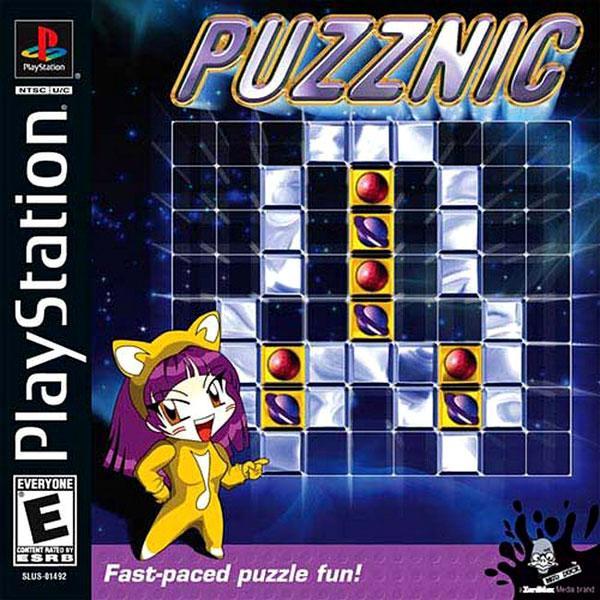 Puzznic [U] [SLUS-01492] front cover