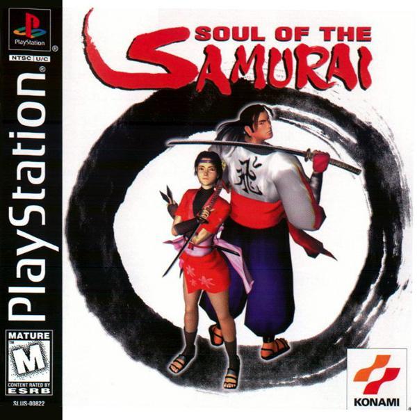 Soul of the Samurai [U] [SLUS-00822] front cover
