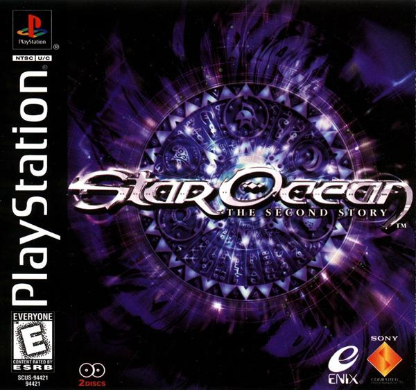 Star Ocean - The Second Story [Disc1of2] [U] [SCUS-94421] front cover