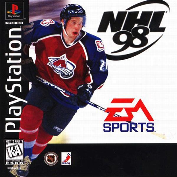 NHL '98 [U] [SLUS-00519] front cover