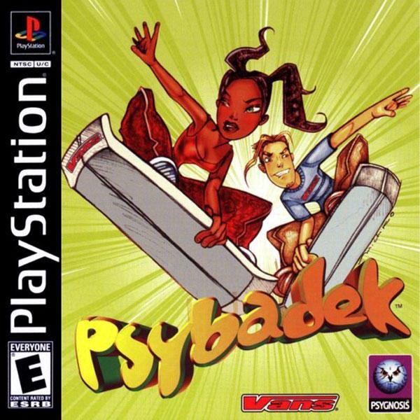 Psybadek [U] [SLUS-00730] front cover