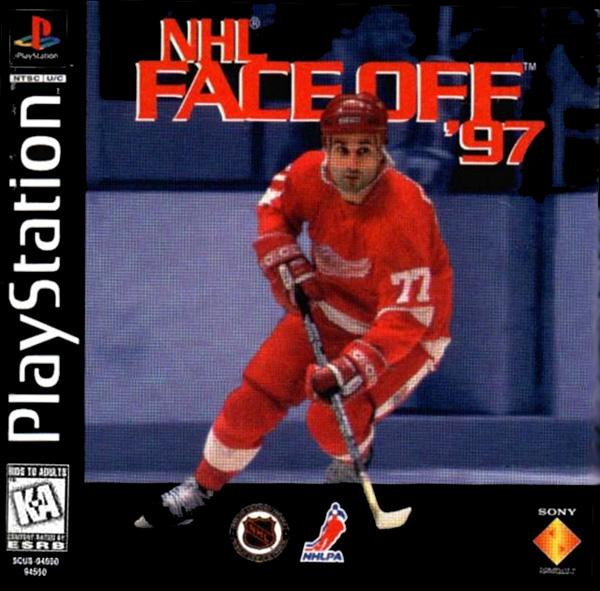 NHL Faceoff '97 [U] [SCUS-94550] front cover