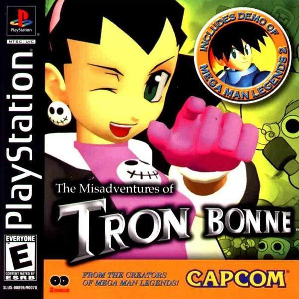 Misadventures of Tron Bonne_ The [U] [SLUS-00896] front cover