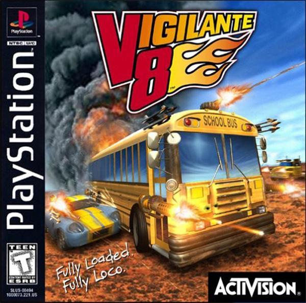 Vigilante 8 [U] [SLUS-00510] front cover