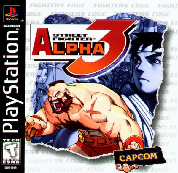 Street Fighter Alpha 3 [U] [SLUS-00821] front cover