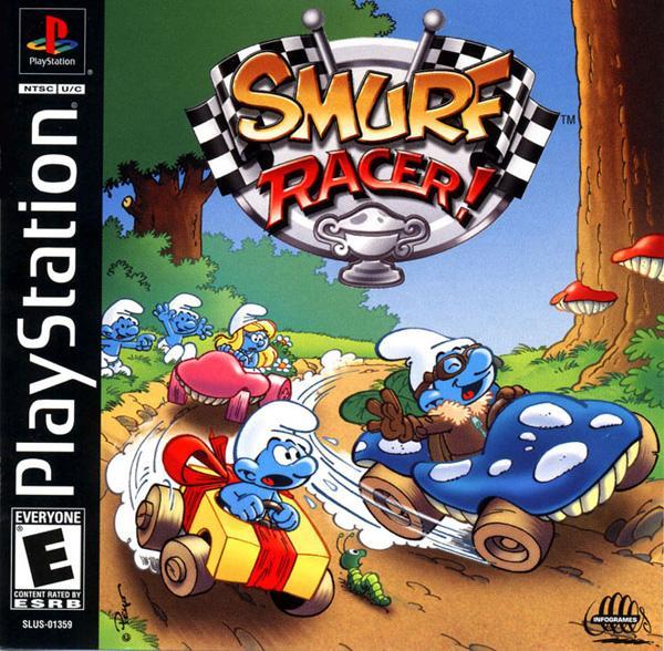 Smurf Racer [U] [SLUS-01359] front cover