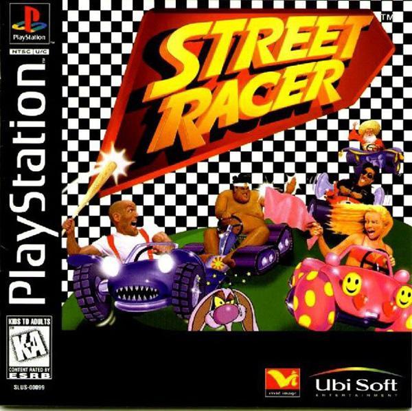Street Racer [U] [SLUS-00099] front cover
