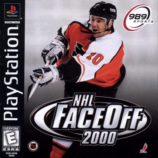 NHL Faceoff 2000 [U] [SCUS-94558] front cover