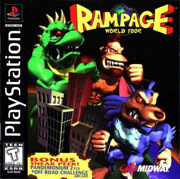 Rampage World Tour [U] [SLUS-00549] front cover
