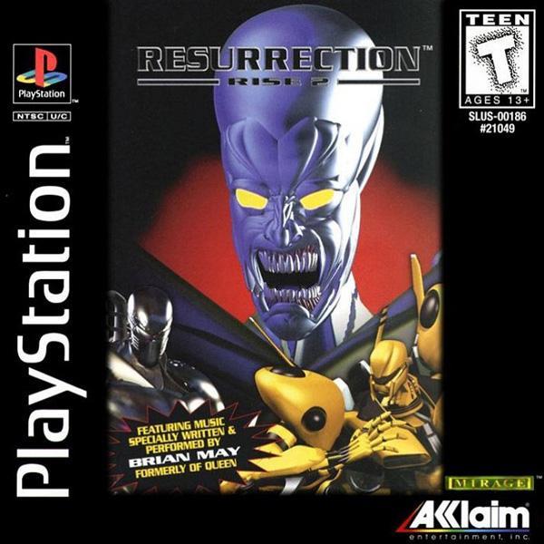 Rise of Robots 2 - Resurection [U] [SLUS-00186] front cover