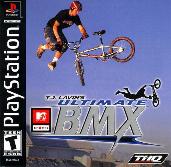MTV Sports - TJ Lavin's Ultimate BMX [U] [SLUS-01233] front cover