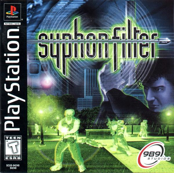 Syphon Filter [U] [SCUS-94240] front cover