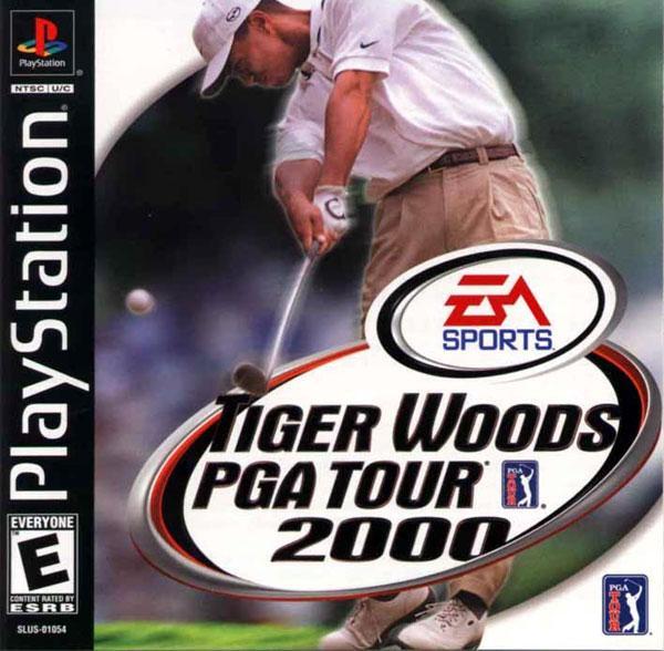 Tiger Woods PGA Tour 2000 [U] [SLUS-01054] front cover