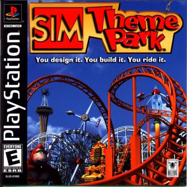 Sim Theme Park [U] [SLUS-01069] front cover