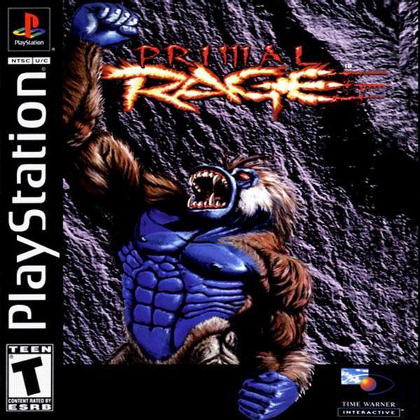 Primal Rage [U] [SLUS-00126] front cover