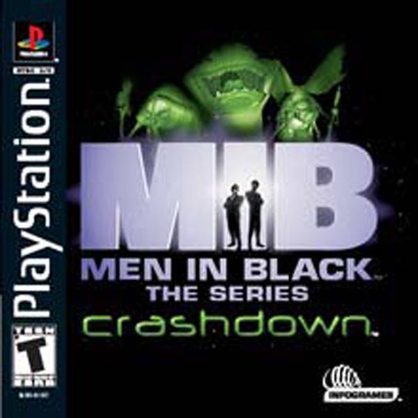 Men In Black - The Series - Crashdown [U] [SLUS-01387] front cover