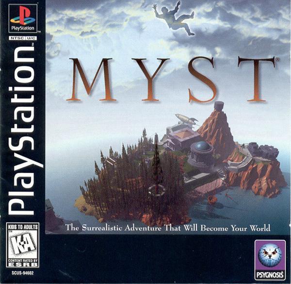 Myst [U] [SCUS-94602] front cover