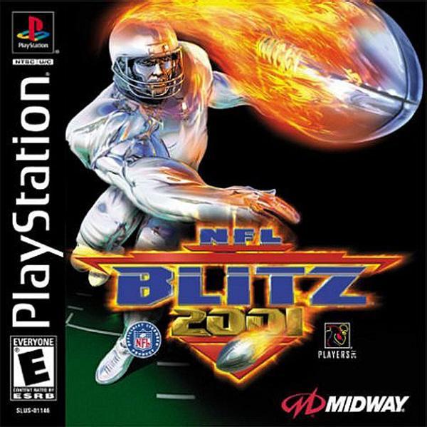 NFL Blitz 2001 [U] [SLUS-01146] front cover