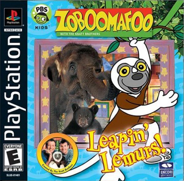 Zoboomafoo [U] [SLUS-01401] front cover
