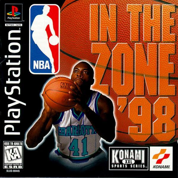 NBA In the Zone '98 [U] [SLUS-00445] front cover