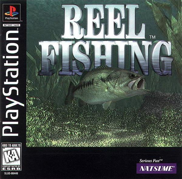 Reel Fishing [U] [SLUS-00440] front cover