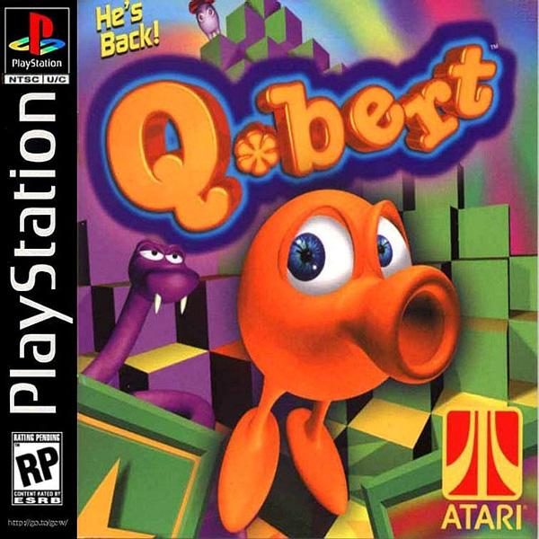 Q-Bert [U] [SLUS-00904] front cover