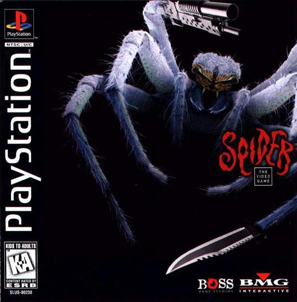 Spider - The Video Game [U] [SLUS-00230] front cover