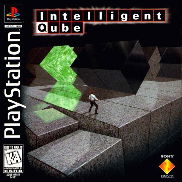 Intelligent Qube [U] [SCUS-94181] front cover