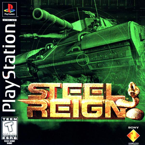 Steel Reign [U] [SCUS-94902] front cover