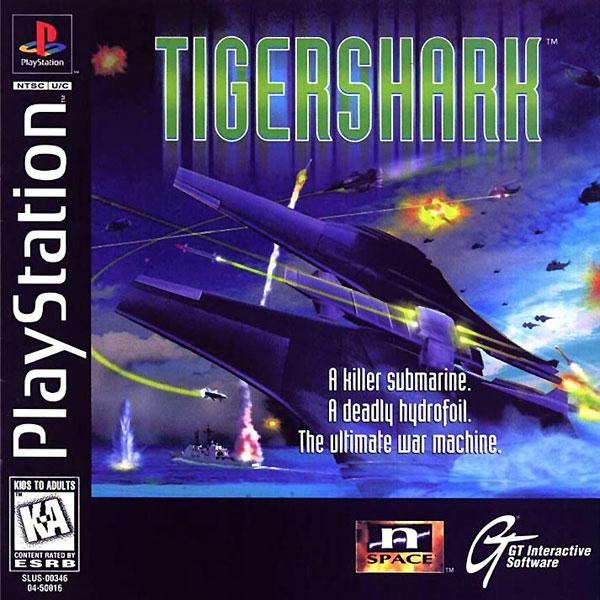 Tigershark [U] [SLUS-00346] front cover